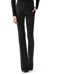 Pantalon flare noir Gucci