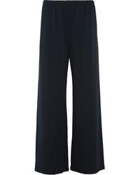 Pantalon large bleu marine The Row