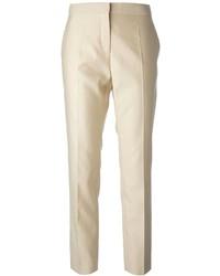 Pantalon slim beige Salvatore Ferragamo