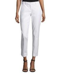 Pantalon slim blanc Michael Kors