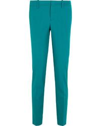 Pantalon slim bleu canard Gucci