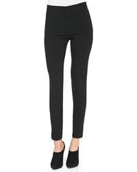 Pantalon slim en laine noir Ralph Lauren Black Label