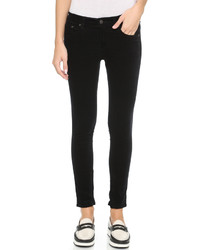 Pantalon slim en velours noir Rag & Bone