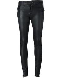 Pantalon slim noir Barbara I Gongini