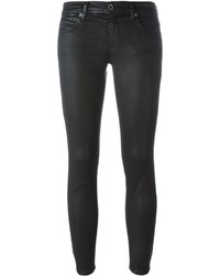Pantalon slim noir Diesel Black Gold
