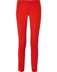 Pantalon slim rouge Michael Kors