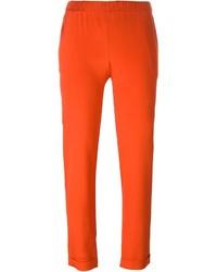 Pantalon slim rouge P.A.R.O.S.H.