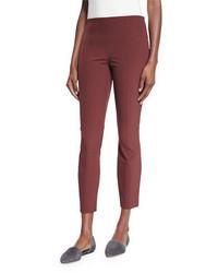 Pantalon slim rouge The Row