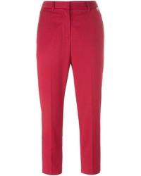 Pantalon slim rouge Twin-Set