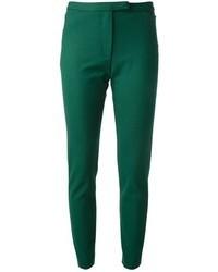 Pantalon slim vert foncé MSGM