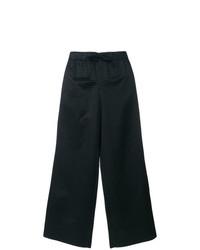 Pantalones anchos a lunares negros de A.P.C.