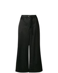 Pantalones anchos a lunares negros de Cabane De Zucca