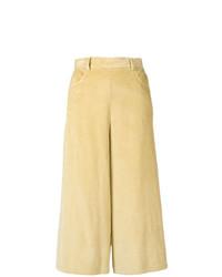 Pantalones anchos amarillos de See by Chloe