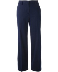 Pantalones anchos azul marino de Etro