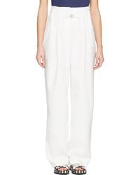 Pantalones anchos blancos de Kenzo