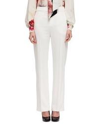 Pantalones anchos blancos de Lanvin
