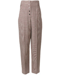 Pantalones anchos burdeos de Stella McCartney