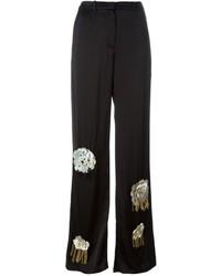 Pantalones anchos con adornos negros de Ports 1961