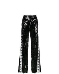 Pantalones anchos de lentejuelas negros de Faith Connexion