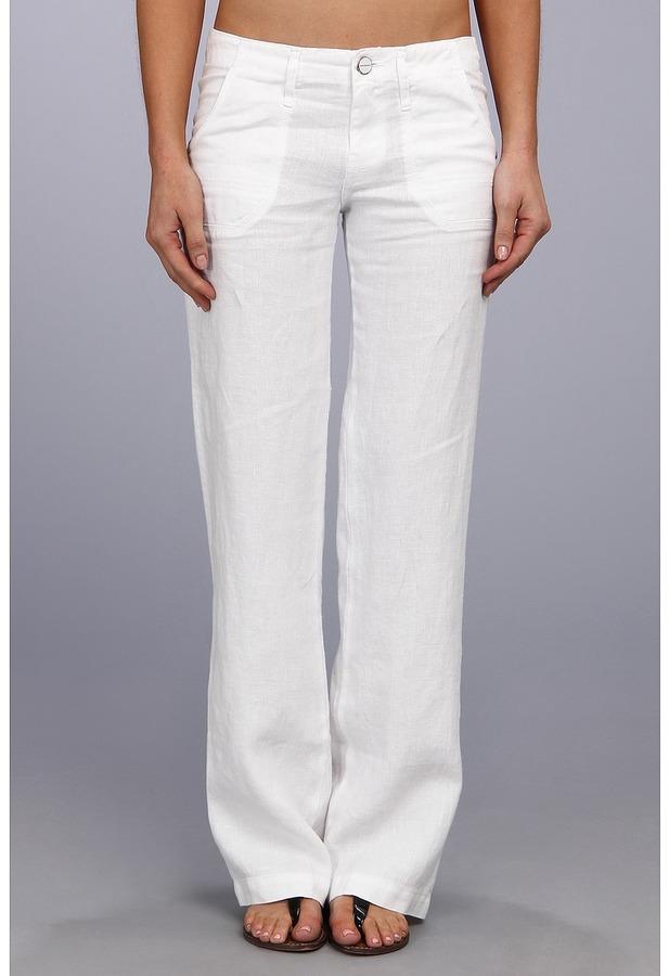 Pantalones Mujer Como De Combinar Lino aw8fqRz