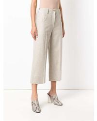 Pantalones anchos en beige de Nehera