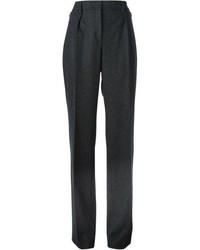 Pantalones anchos en gris oscuro de Akris