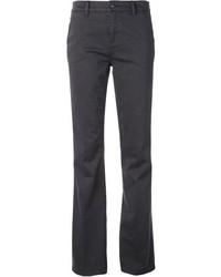 Pantalones anchos en gris oscuro de Tory Burch
