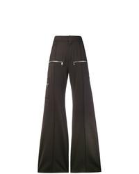 Pantalones anchos en marrón oscuro de Chloé