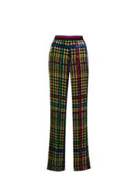 Pantalones anchos estampados en multicolor de Etro
