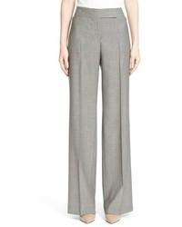Pantalones anchos grises de Akris