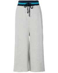 Pantalones anchos grises de Diesel