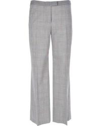 Pantalones anchos grises de Moschino