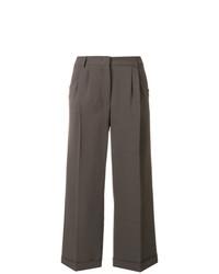 Pantalones anchos marrónes de Fabiana Filippi