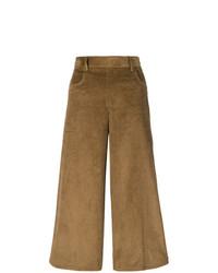 Pantalones anchos marrónes de See by Chloe