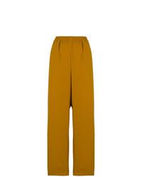 Pantalones anchos mostaza de Faith Connexion
