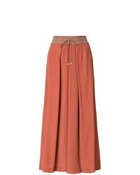 Pantalones anchos naranjas de Lorena Antoniazzi