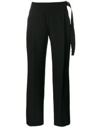 Pantalones anchos negros de Carven