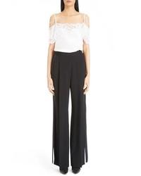 Pantalones anchos negros de Givenchy