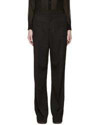Pantalones anchos negros de Marc Jacobs