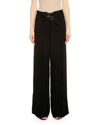 Pantalones anchos negros de Tom Ford