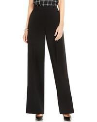 Pantalones anchos negros de Vince Camuto