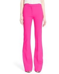 Pantalones anchos rosa de Victoria Beckham