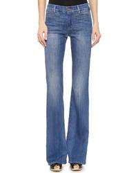 20625e1761 ... Pantalones anchos vaqueros azules de MiH Jeans