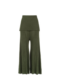 Pantalones anchos verde oliva de OSKLEN
