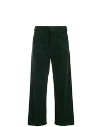 Pantalones anchos verde oscuro de Department 5