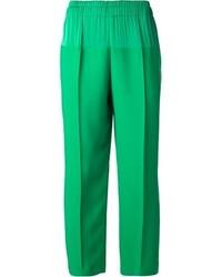 Pantalones anchos verdes