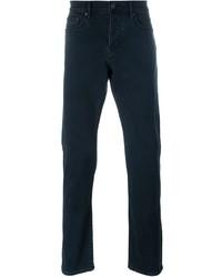 Pantalones azul marino de Burberry