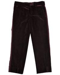 Pantalones burdeos de Dolce & Gabbana