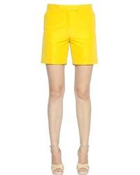 Pantalones cortos amarillos de Rochas