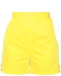 Pantalones cortos amarillos de Versace